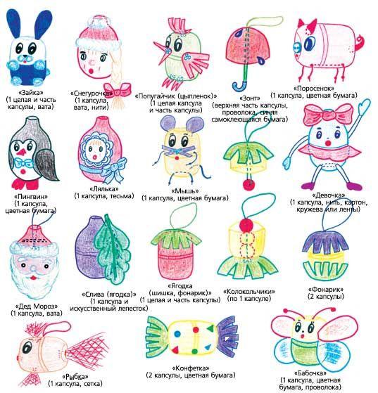 50 best Kinder Surprise images on Pinterest Crochet toys - design des projekts kinder zusammen
