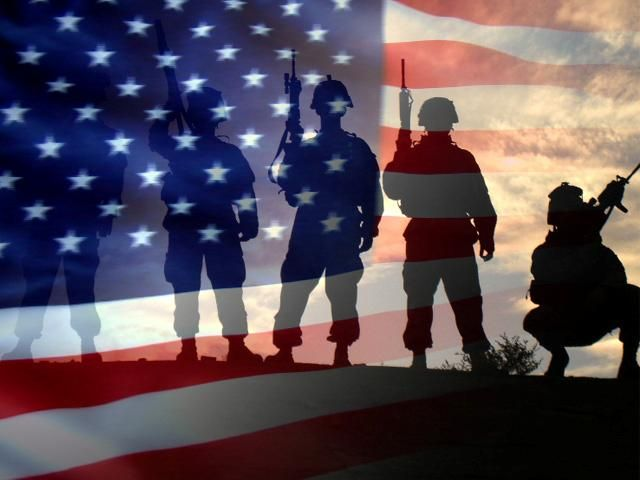Image result for image of an american flag and soldier