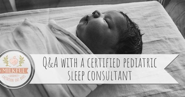 Katie Pitts, Certified Pediatric Sleep Consultant from Sleep Wise Consulting answers common baby, toddler and child sleep questions from Milkful families.
