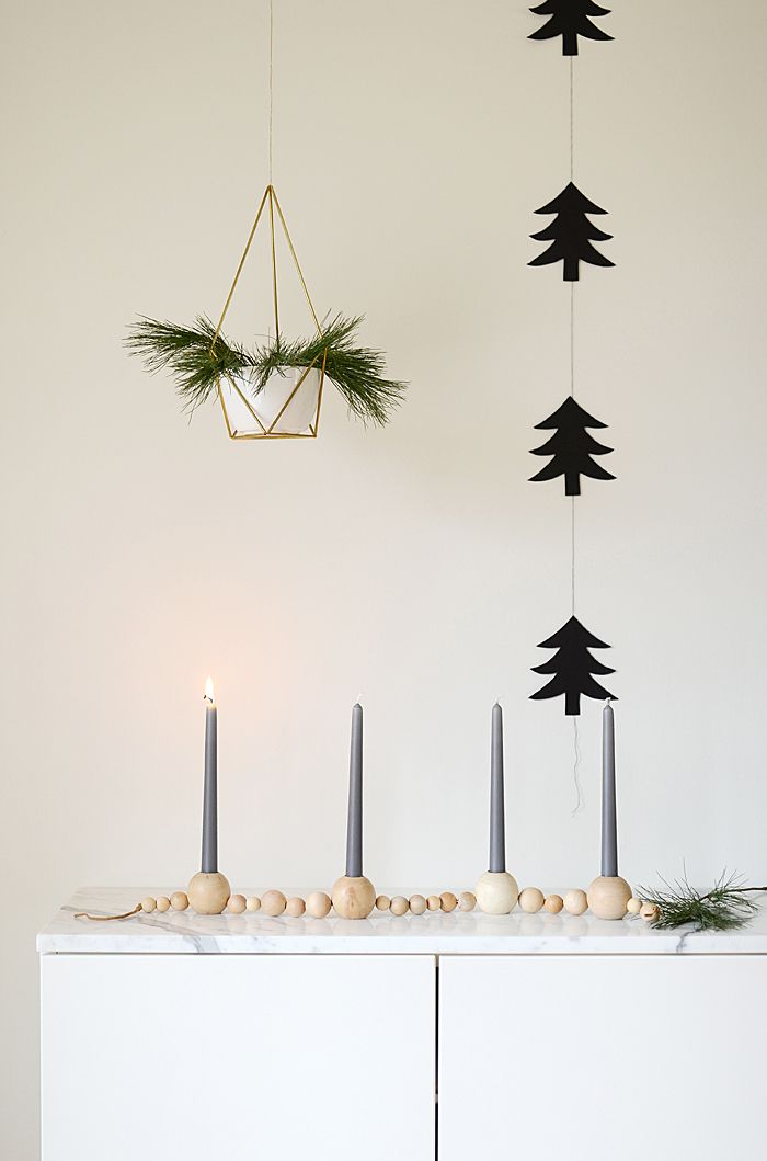 DIY Beaded Advent Candle Holder Tutorial