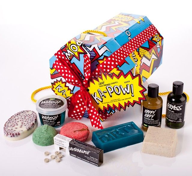 Ka-Pow gift box from @lushltd (via @emeraldstreet) - Now I know ...