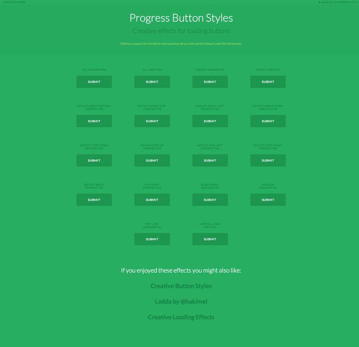 Progress Button Styles by Codrops