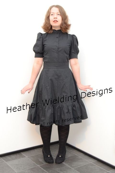 Embroidered Loli-Outfit - Sewing pattern by Heather Wielding Designs  http://heatherwielding.com/product/embroidered-loli-outfit/