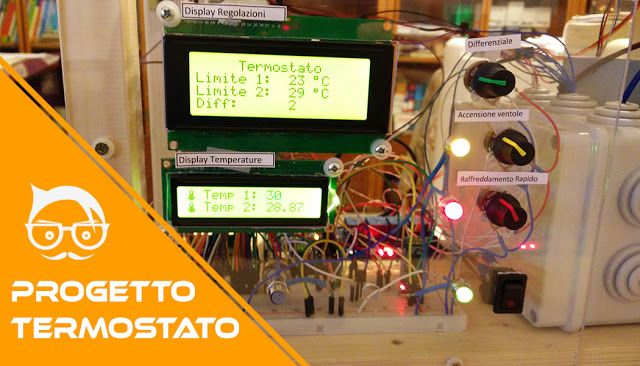 Arduino thermostat project!