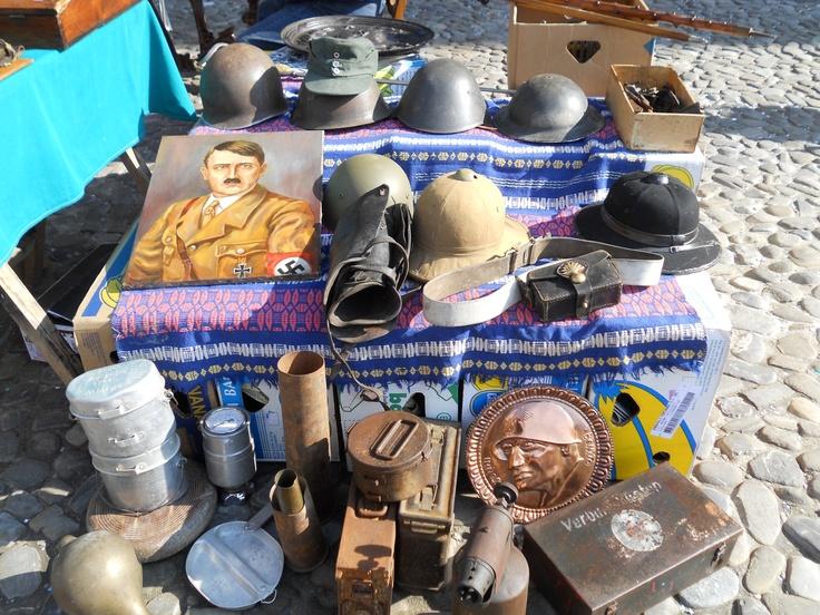 Rather dodgy antique Market in Modena