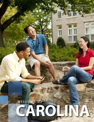 UNC-CH Admitted Student Brochure for First-Year Students