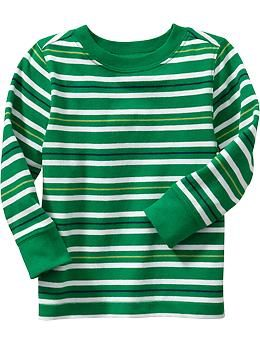 Striped Crew-Neck Tees for Baby 4