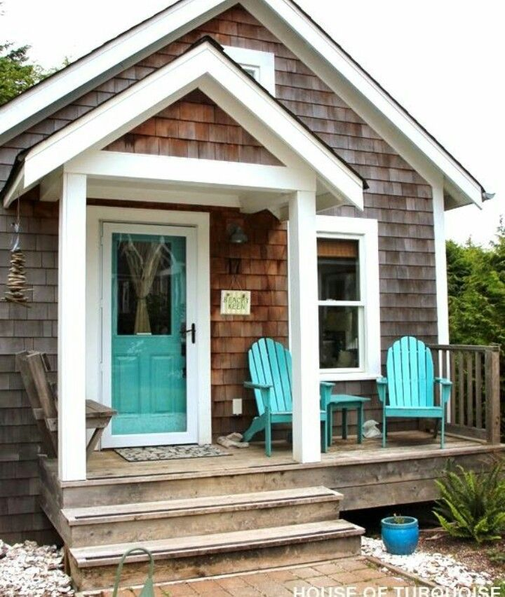 Tiny beach cottage