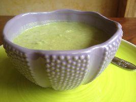 Voedselzandloper Avocadosoep