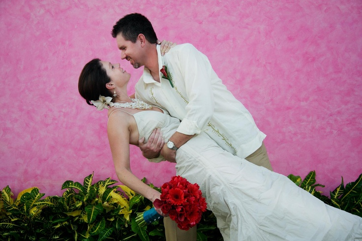 Our own DestinationVows Specialist Pam Park who got married at a gorgeous resort in Mexico!