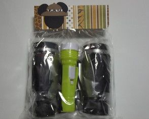 Kit Safari Mickey- Binoculo e Lanterna