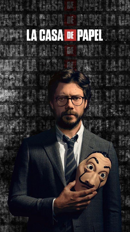 Pin By Farbod A Kamali On La Casa De Papel Best Tv Series Ever Money Wallpaper Iphone Netflix