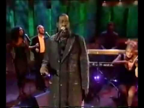 """My First, My Last, My Everything"" by Barry White   (This reminds me of John Cage from Ally McBeal and just makes me giggle... I love it!)"