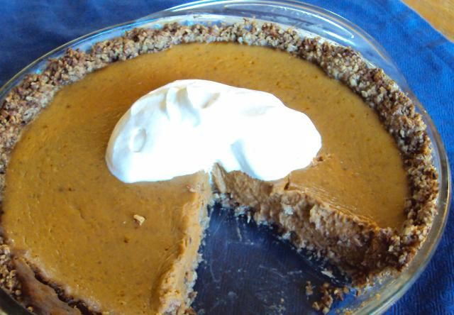 Your Guests Won't Know This Pumpkin Pie Is Sugar Free