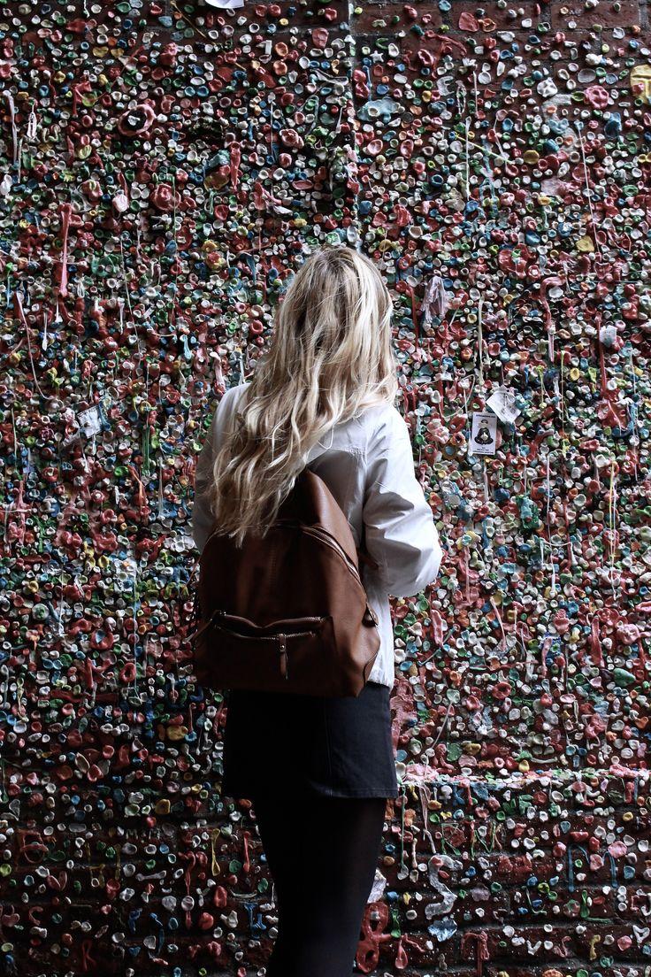 Gum Wall // Seattle WA #travel