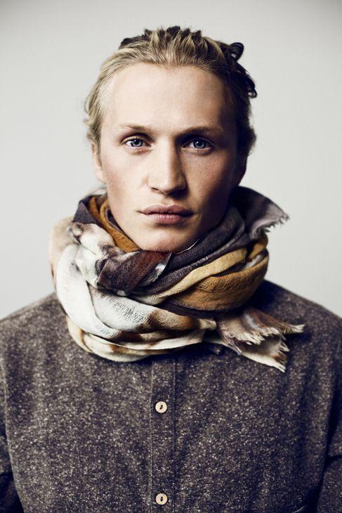 Holzweiler scarves campaign and lookbook - holzweiler skjerf -http://kjetilhasselgaard.com