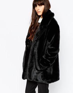 17 meilleures id es propos de manteau fausse fourrure sur pinterest manteau faux manteaux. Black Bedroom Furniture Sets. Home Design Ideas