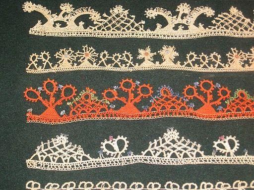"Bulgarian needle lace ""Kene"""