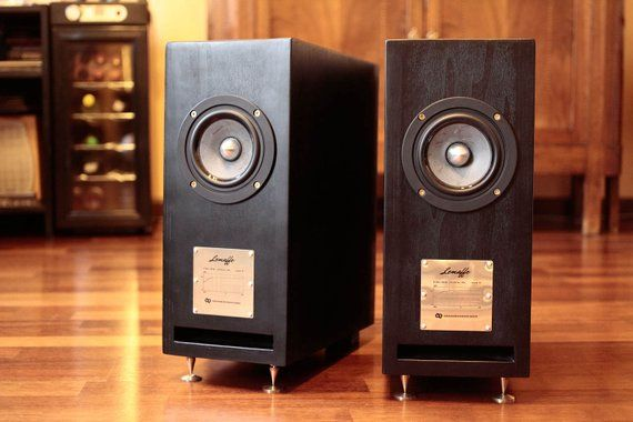 High End Stereo Speakers Hand Made In Italy Audiophile Quality