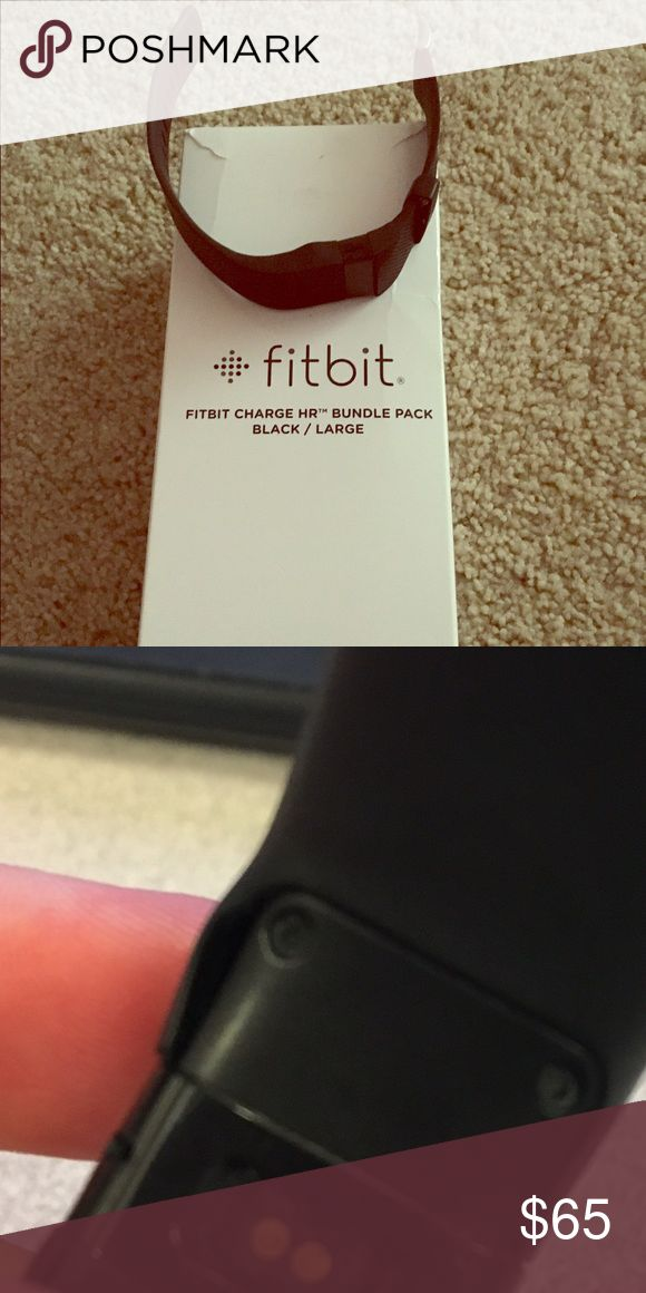 Fitbit Charge HR Fitbit Charge HR - all accessories included, slight damage to wristband (pic shown) Fitbit Accessories