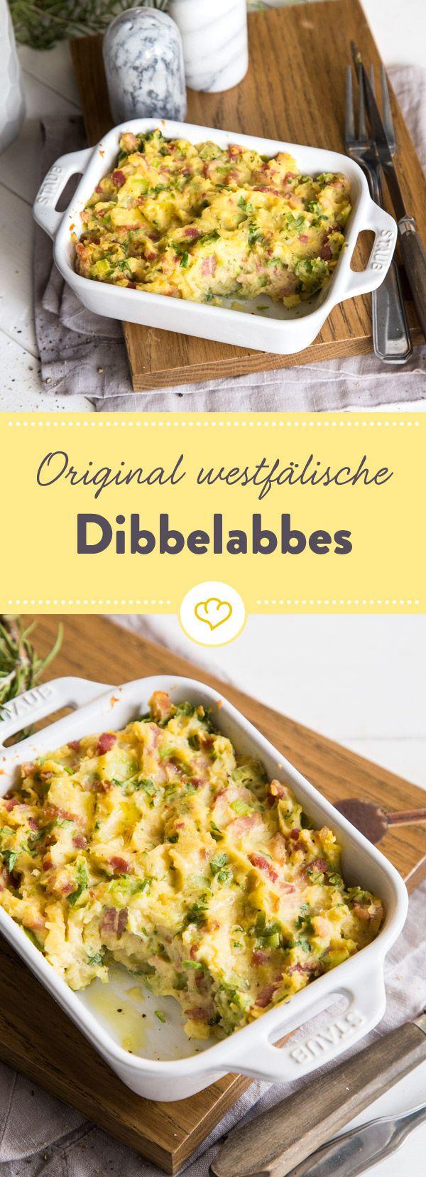 Wenn du auf Rösti, Zwiebeln und Speck magst, wirst du Dibbelabbes lieben. Dieser süddeutsche Pfannen Auflauf ist einfach und schnell gemacht.
