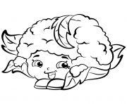 Cauliflower Chloe shopkins season 2 coloring
