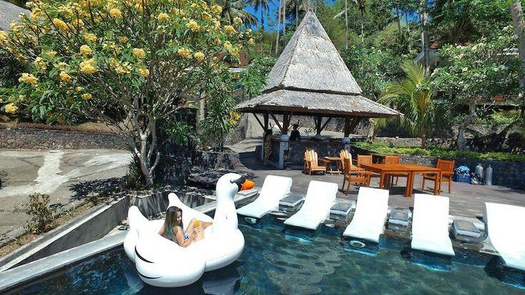Beautiful sunny day @ Dabirahe Dive, Spa and Leisure Resort   #dabirahe #lembeh #holiday #spa #resort #travel #tour #dive #honeymoon #romance
