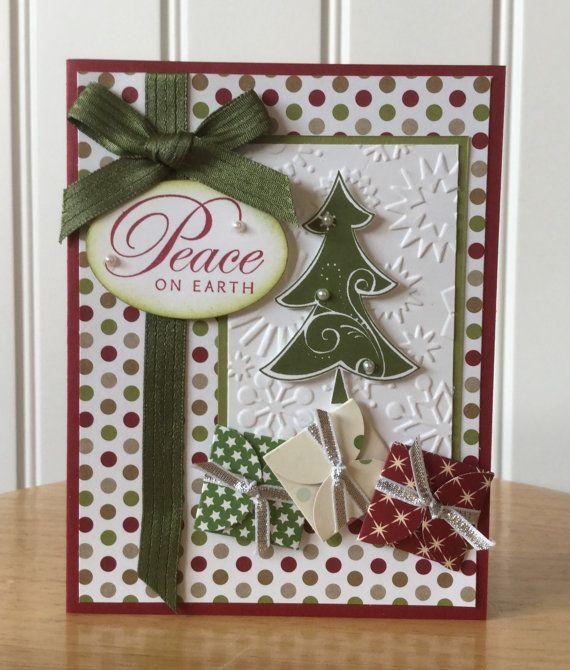 Stampin Up handgemachte Weihnachtskarte Frieden von treehouse05