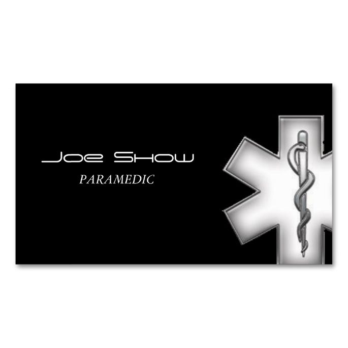 Star Of Life Business Card Business Cards Business And