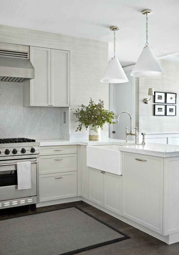 West Village Waterfront || Farm Sink & Marble Countertops || Chango & Co.
