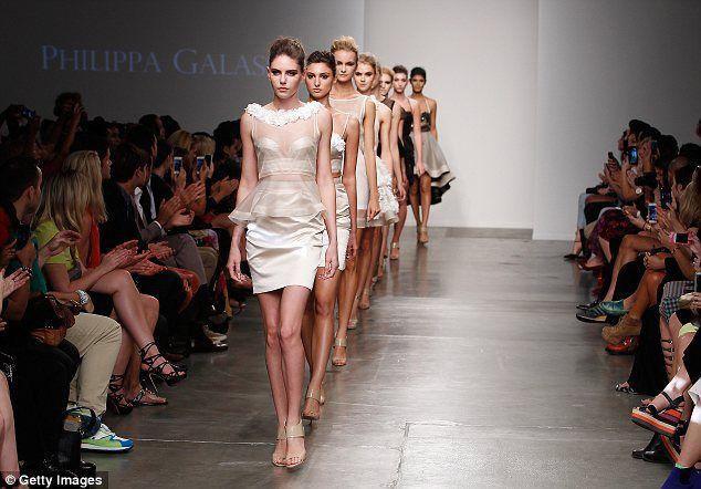 Philippa Galasso Spring/Summer 2014/15 NYFW runway