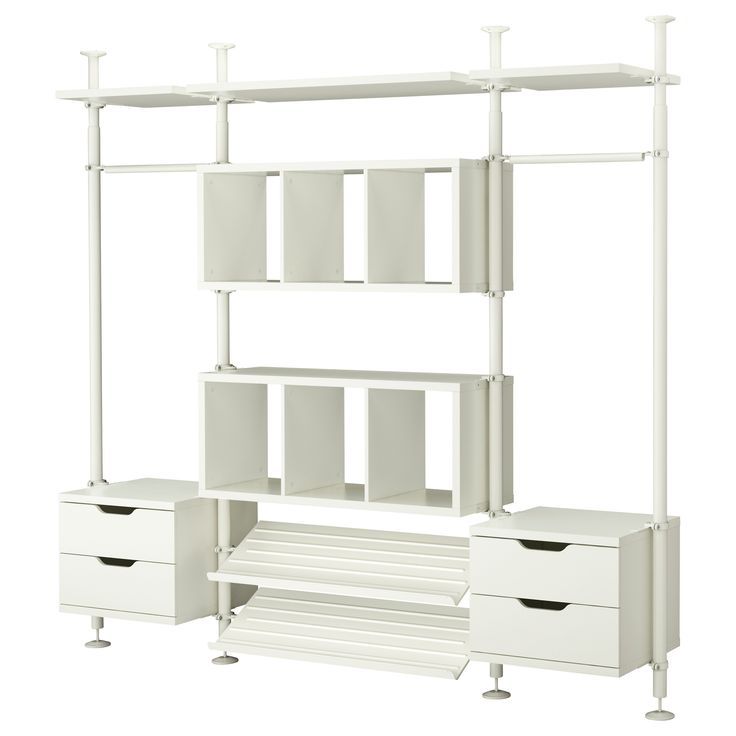 Marvelous STOLMEN 3 Sections IKEA Height Adjustable From 82 Which Allows You To  Utilize The Entire Ceiling Height. Different Sections To Customise Closet