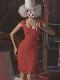 Olvi's Dress short mandarin