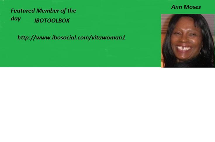 Ann Moses Vita Women health and wellness   http://www.ibosocial.com/vitawoman1