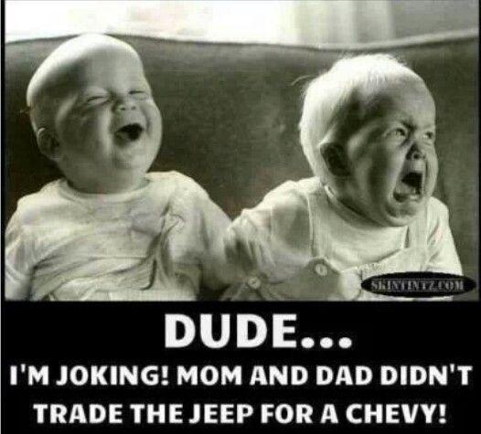 Jeep joke                                                                                                                                                     More