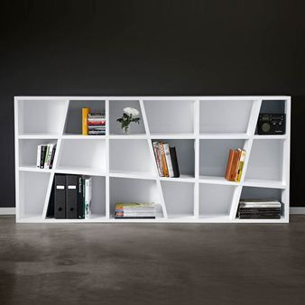 I want to build a shelf that looks like this. I can do it! I'll just have to dust off my trigonometry skills. Hope I didn't accidentally throw away those skills at some point during a mental spring cleaning.