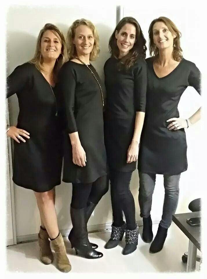 Vier prachtige jurken tot stand gekomen in de 'Workshop Litte Black Dress'.  Wil jij zelf ook een Little Black Dress maken? http://anydress.biedmeer.nl/Webwinkel-Category-2166221/Workshops.html