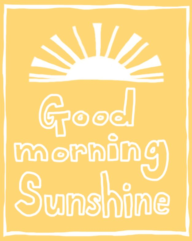 Good Morning Sunshine Letter : Best images about art word letters printables on