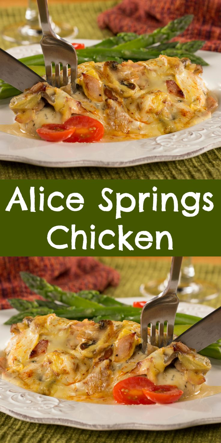 Restaurant recipes like our version of Alice Springs Chicken will keep 'em coming back for more and more!