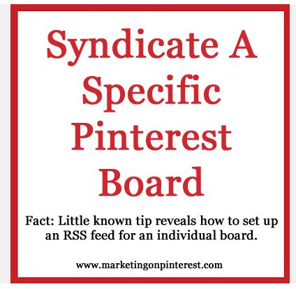 Enhance your Pinterest RSS options and syndicate a Specific Pinterest Board...Enhancer, Social Pinterest, Social Media, Pinterest Stuff, Rss Options, Pinterest Rss, Pinterest Dos, Specific Pinterest, Pinterest Boards