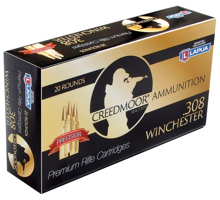 Creedmoor .308 150 gr. Ammunition (Lapua Brass)