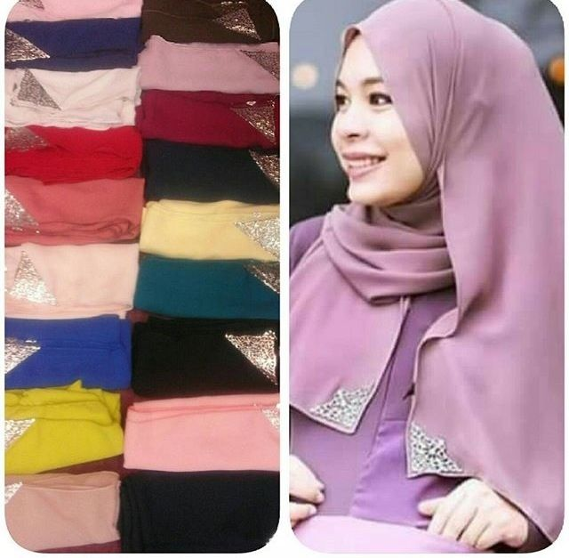 SHAWL CROWN GOLD RM19 ONLY MATERIAL HEAVY  CHIFFON GRED AAA WHATSAPP +60143403410 direct order from www.myproductdeal.com