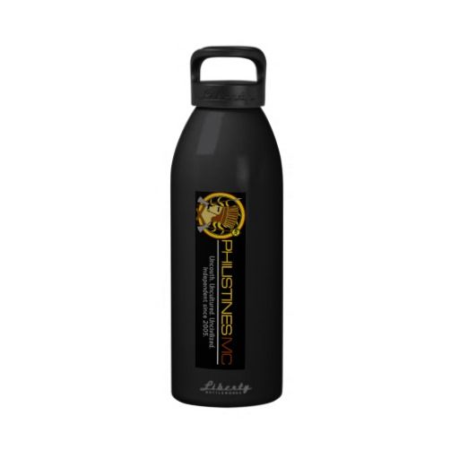 Philistine Tactical Cocktail Glass Water Bottle