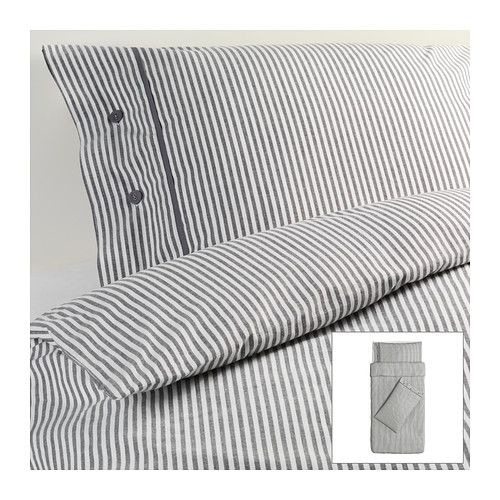 NYPONROS Quilt cover and 2 pillowcases - 150x200/50x80 cm  - IKEA