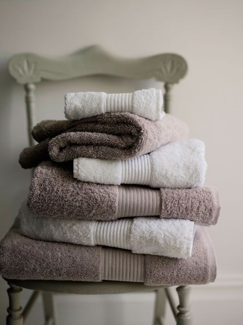 Cotton towels, The White Company.