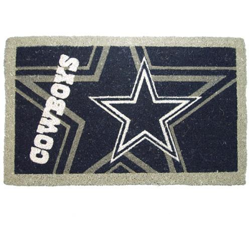 Vintage Rugs NFL Football Dallas Cowboys Coir Coco Wele Mat Doormat