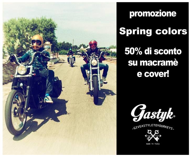 Spring colors - 50% di sconto su macramè e cover scopri di più su http://www.gastykcovers.com/?p=3592