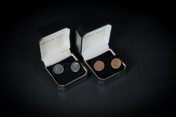 Tokens & Icons cufflinks: Museums Stores, Icons Cufflinks
