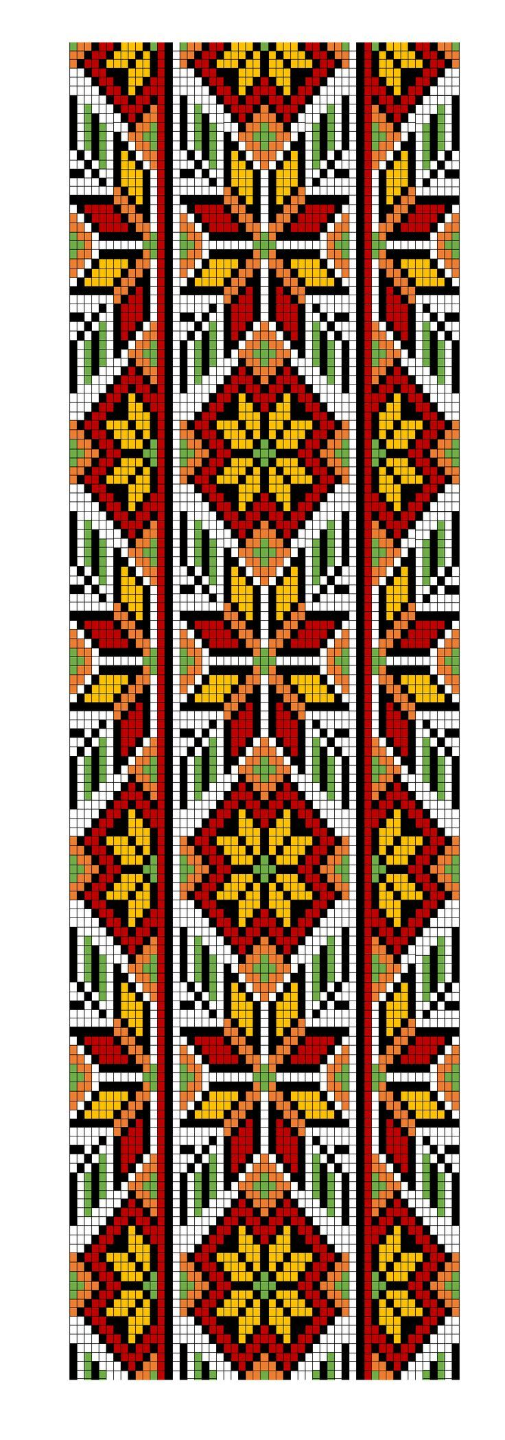 loom pattern- Ukrainian: