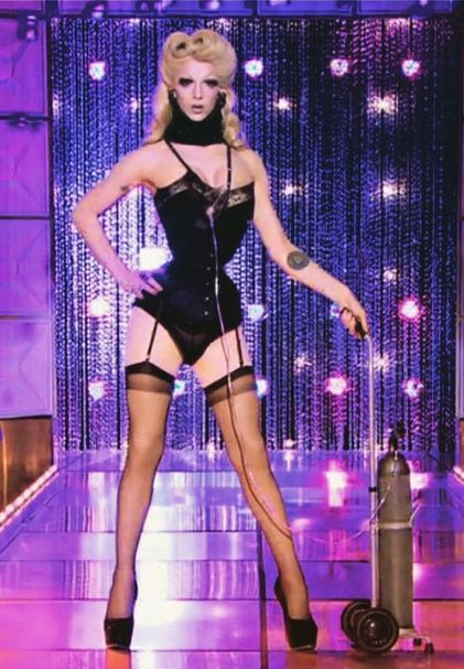 Death Becomes Her - Violet Chachki RuPaul's Drag Race season 7